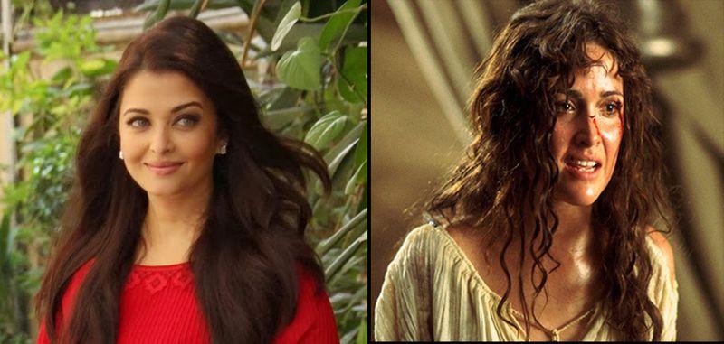 Aishwarya Rai Bachchan and Rose Byrne
