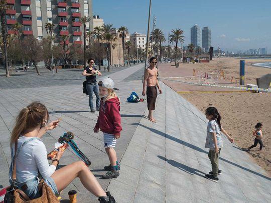 Barcelona Spain coronavirus