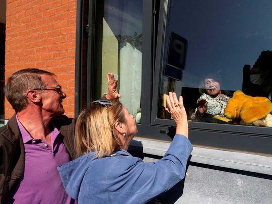 Belgium care home coronavirus