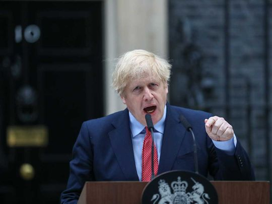 Boris Johnson, UK prime minister