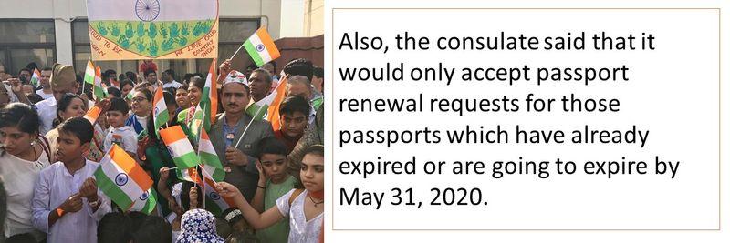 Indian passport renewal 11-20