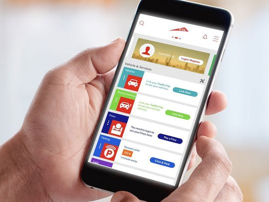 RTA App transactions up in Dubai
