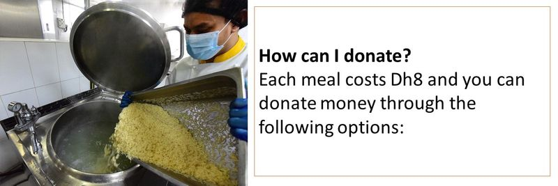 Ramadan donating food 11-20