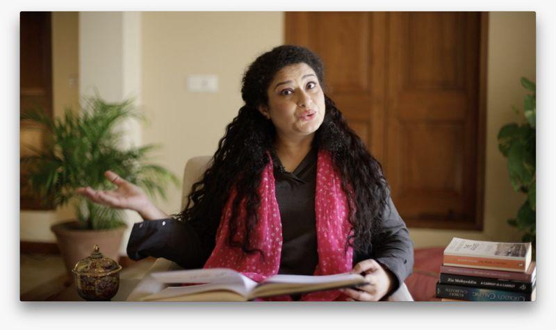 Sania Saeed in PTV's TELESCHOOL-1587969209047