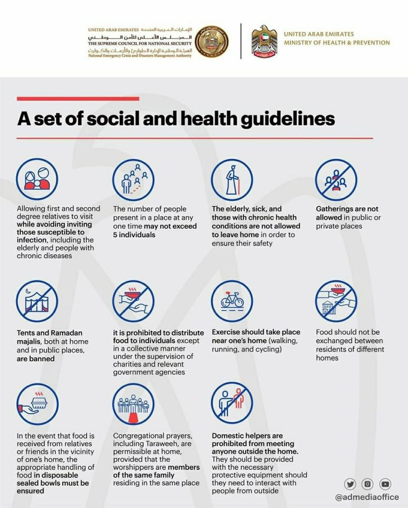 Social guidelines for Ramadan