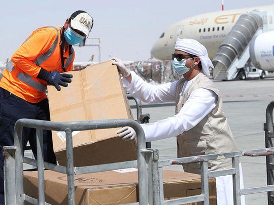 UAE sends 20 tonnes of Aid to Indonesia