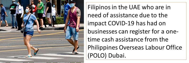 POLO cash assistance