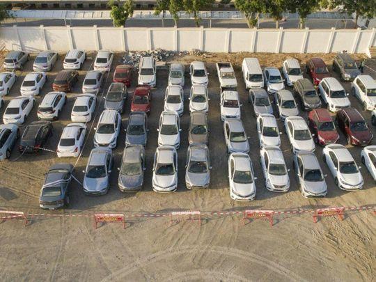 Stolen rental cars seized in Ajman