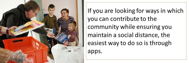 apps to donate