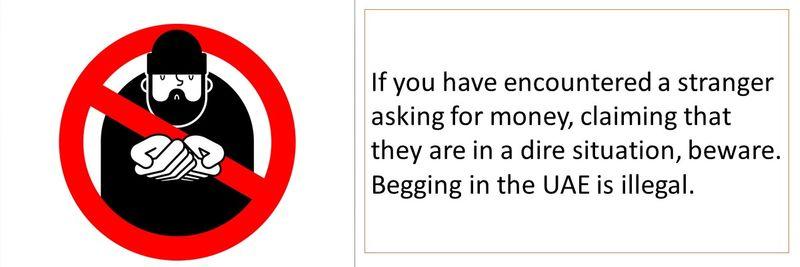 Begging scam 1-10