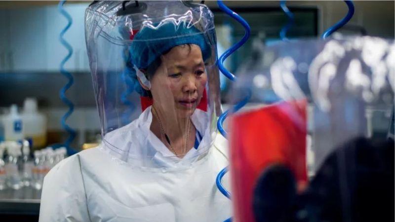 Chinese virologist Shi Zhengli inside the BSL-4 lab in Wuhan, China, on February 23, 2017.