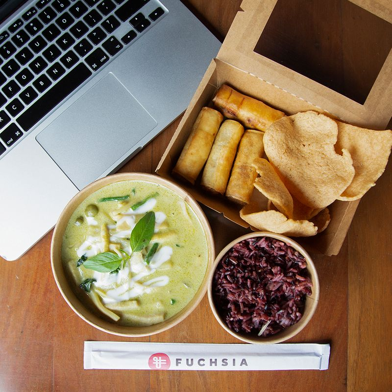Fuchia urban thai