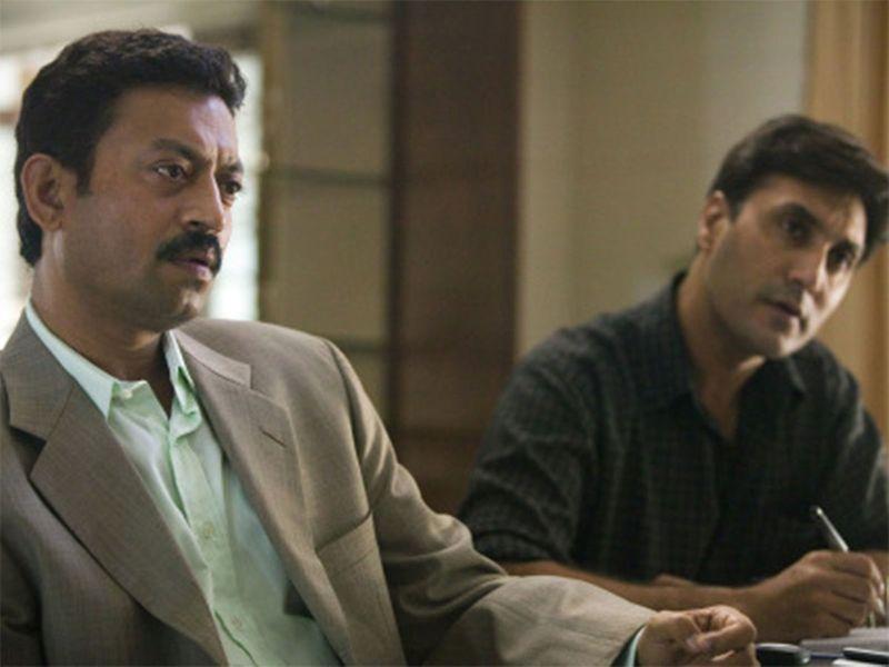 Irrfan Khan and Adnan Siddiqui