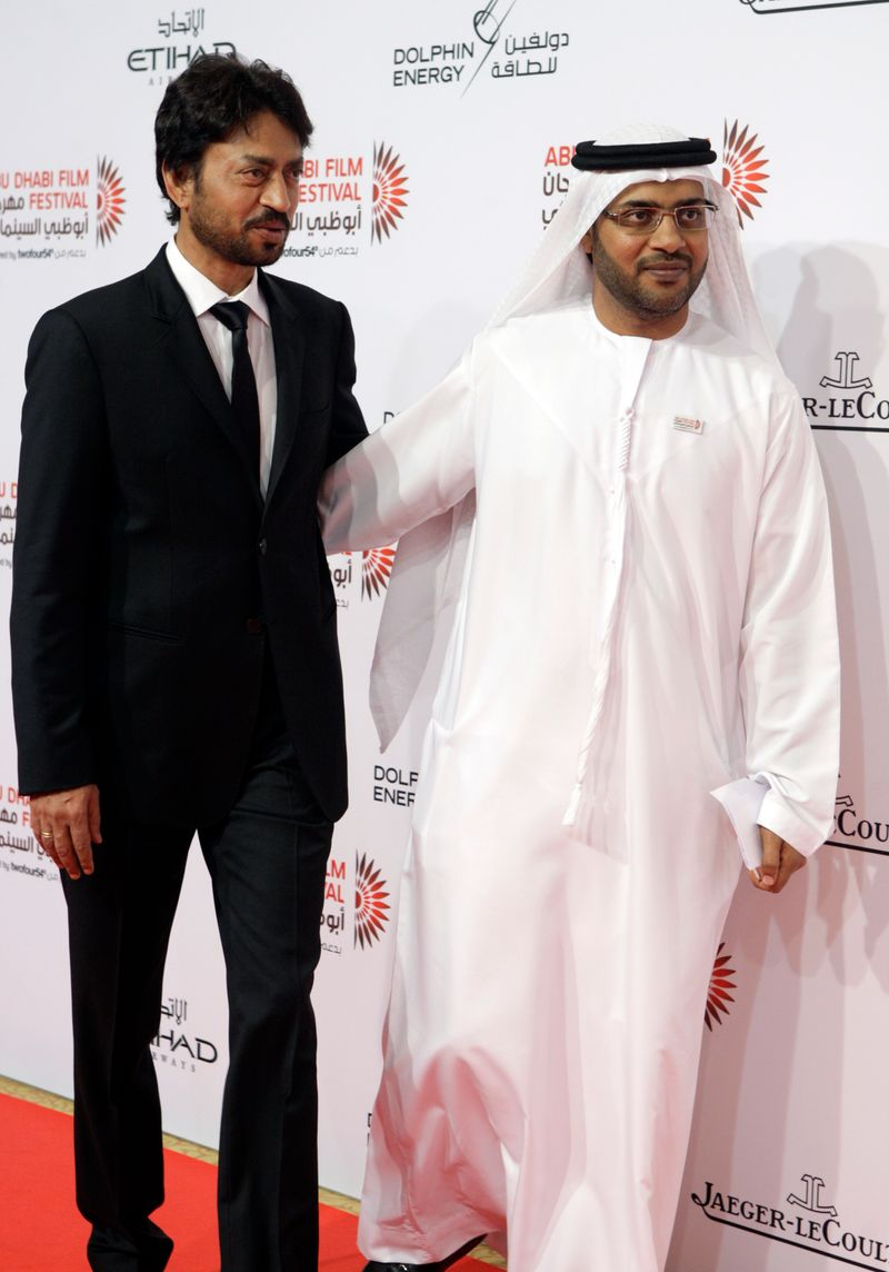 Irrfan Khan in Abu Dhabi