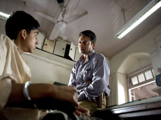 Irrfan Khan in Slumdog Millionaire