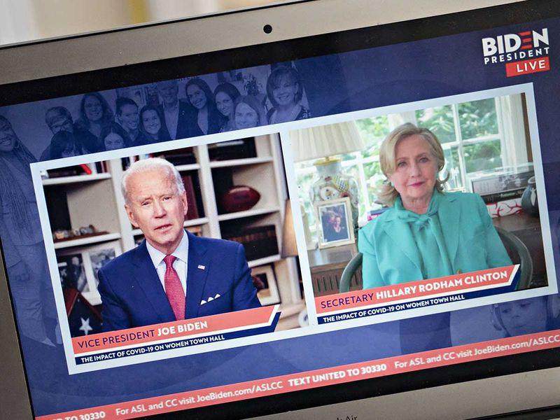 Joe Biden Hillary clinton
