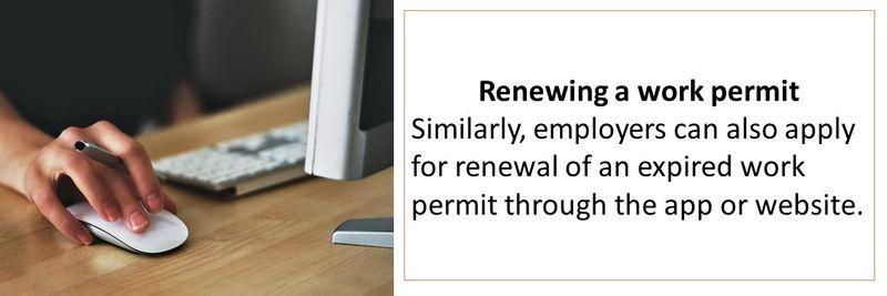 online temp work permit 12-22