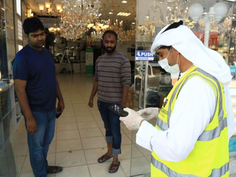 Al Ain Municipality inspection against coronavirus