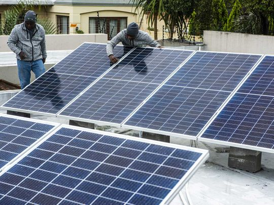 Energy solar panels South Africa
