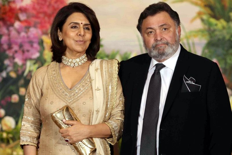 Neetu and Rishi Kapoor
