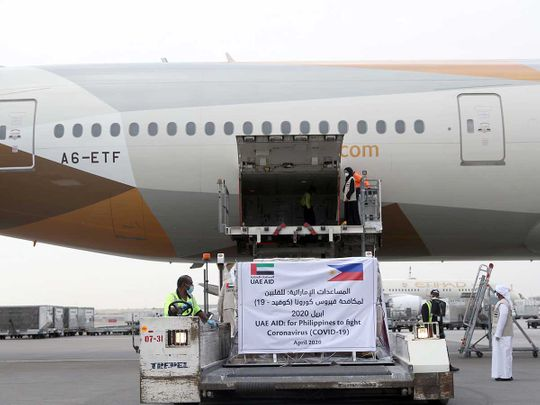 Philippines Aid from UAE