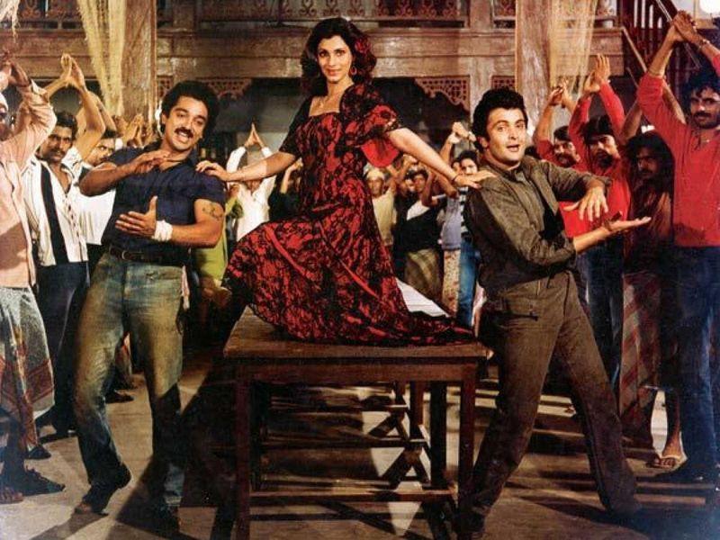 Rishi Kapoor in Saagar