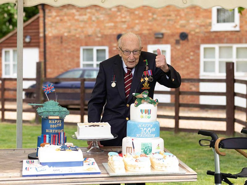 Second World War veteran Captain Tom Moore