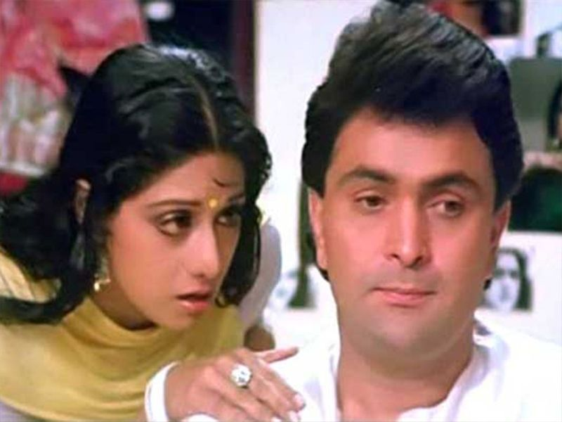 Sridevi and rishi kapoor