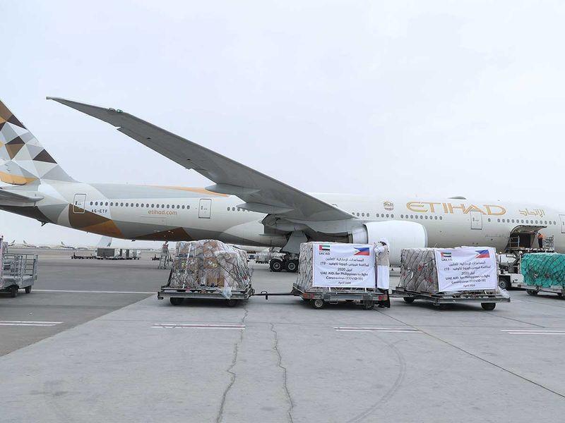 UAE aid Philippines