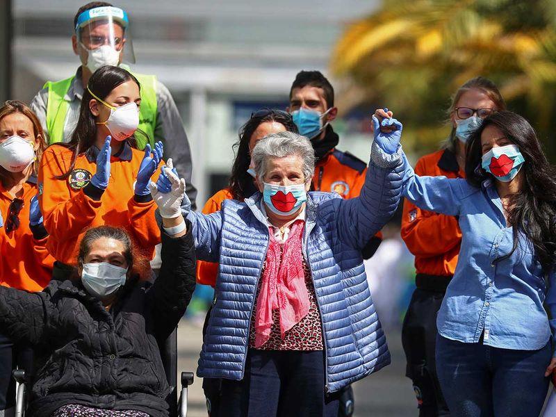 Last patients Spain health coronavirus