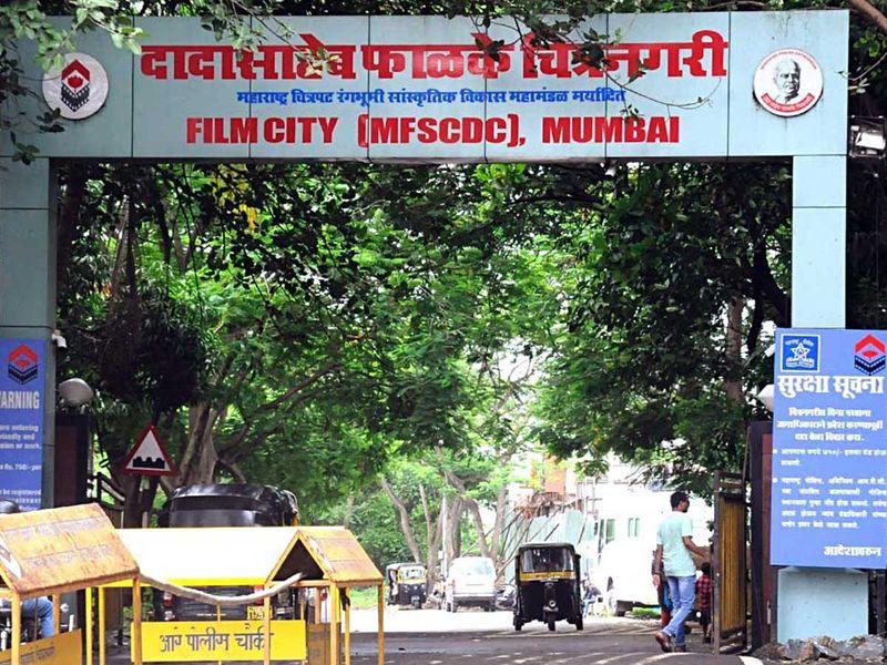 Mumbai Film City India actors