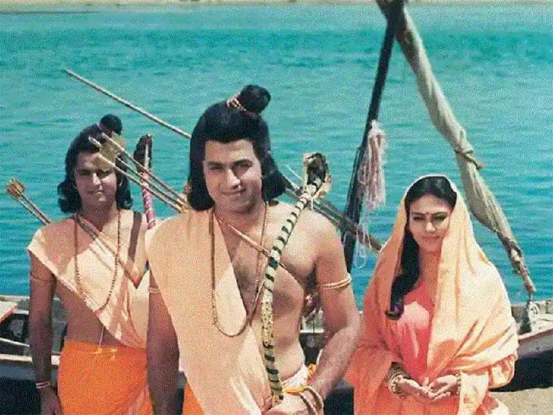 Still from the TV show Ramayana
