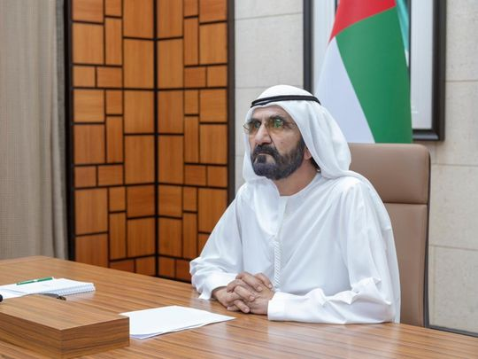 His Highness Sheikh Mohammed Bin Rashid Al Maktoum, Vice-President and Prime Minister of the UAE and Ruler of Dubai
