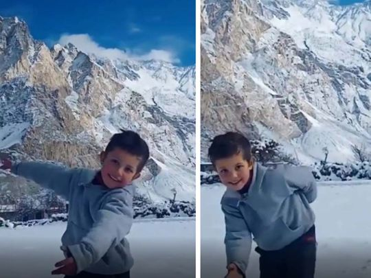 UNICEF shares video of Pakistani boy dancing