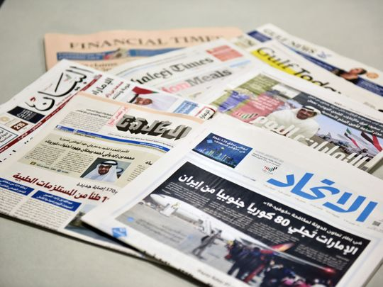 OPN UAE MEDIA News Papers CE005-1588583901420