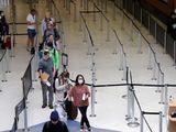 Airport passengers