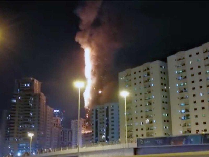 Sharjah fire