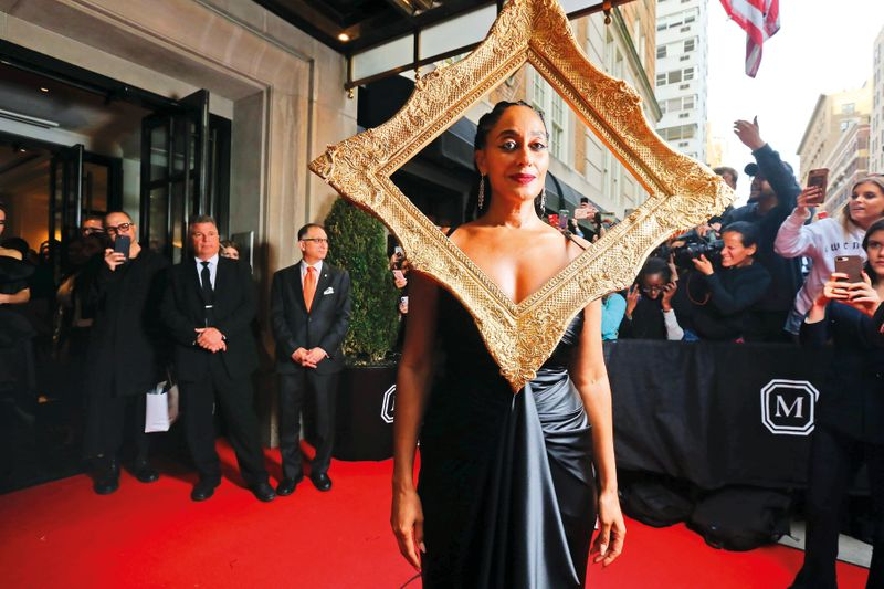 Tracee-Ellis Ross at the Met Gala 2019