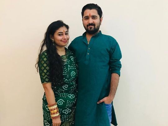 Hiral with husband Harsh Nanda tell of how they escaped Sharjah fire