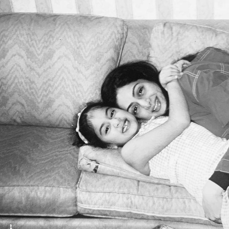 Janhvi Kapoor and Sridevi
