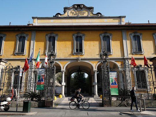 Pio Albergo Trivulzio nursing home, in Milan