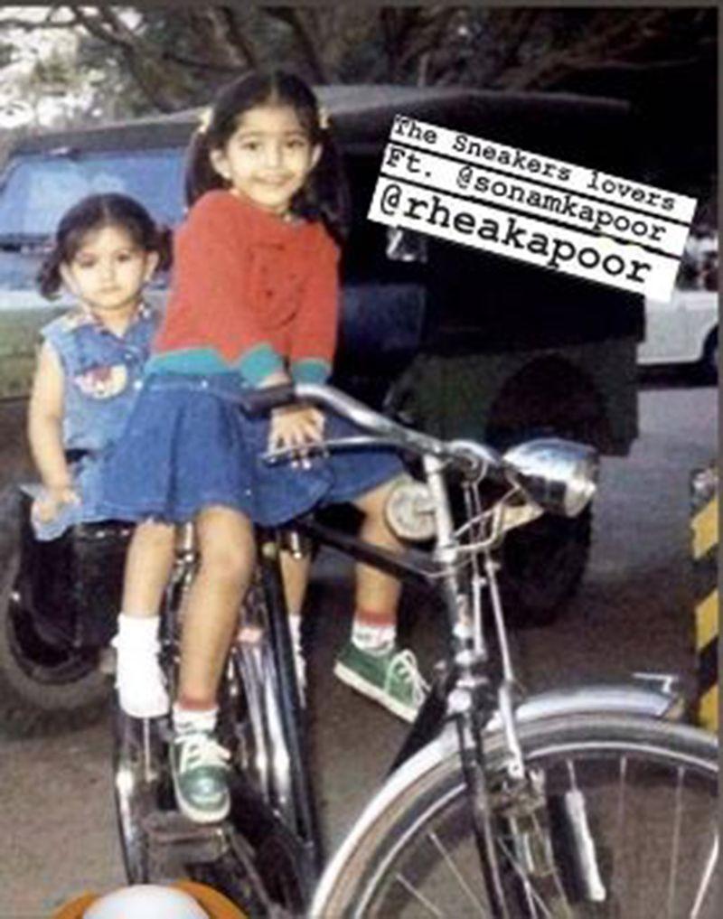 Rhea and Sonam Kapoor