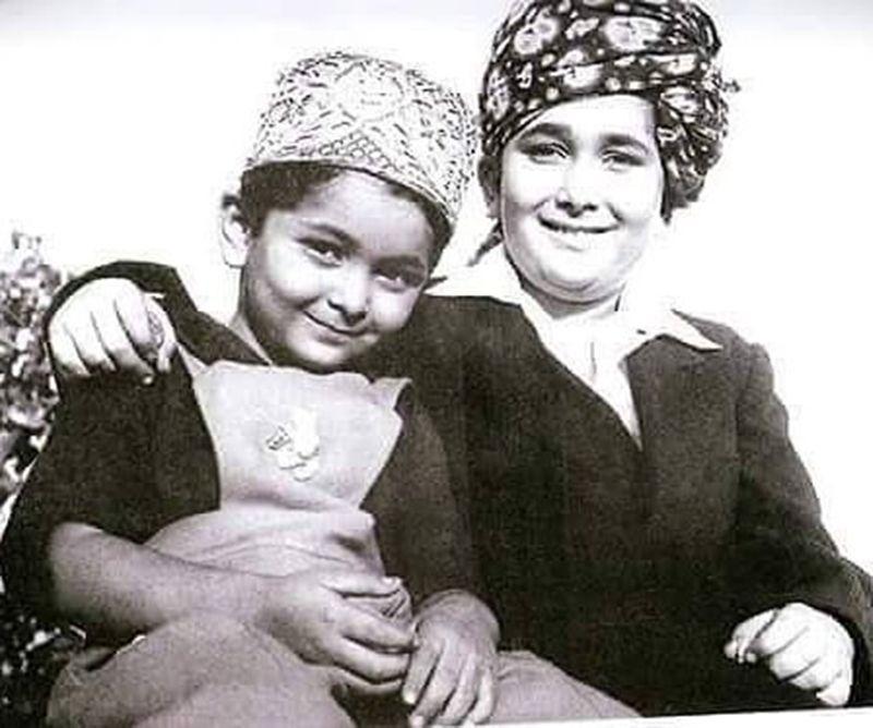 Rishi and Randhir Kapoor