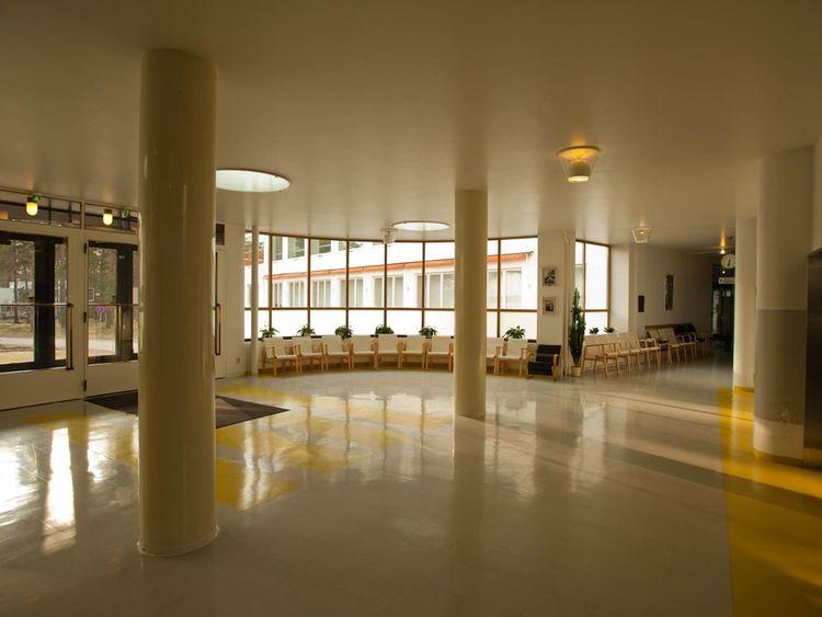 Aalto's Paimio Sanatorium