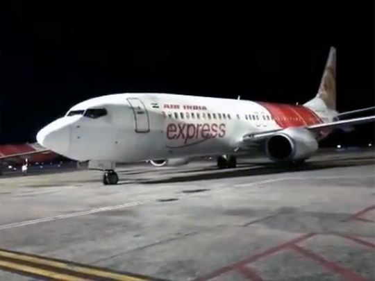 Air india Express aircraft lands in Kerala