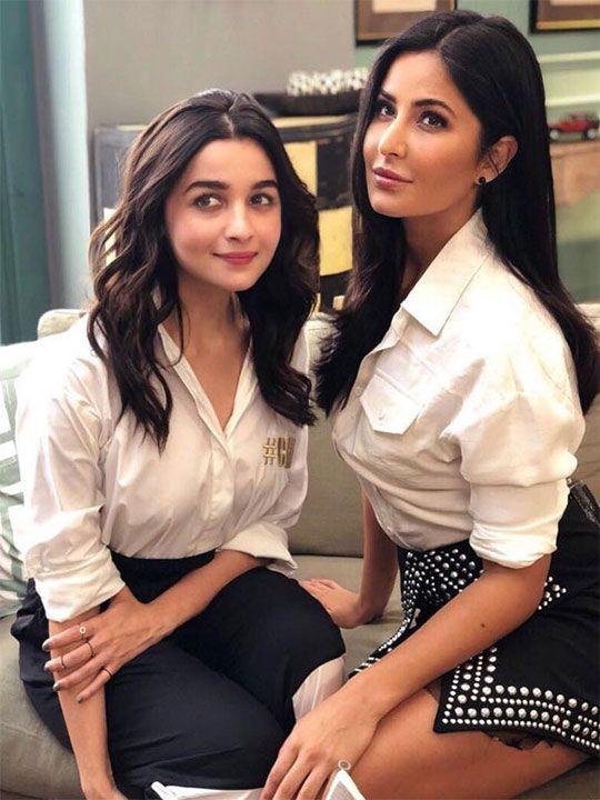 Alia Bhatta and Katrina Kaif