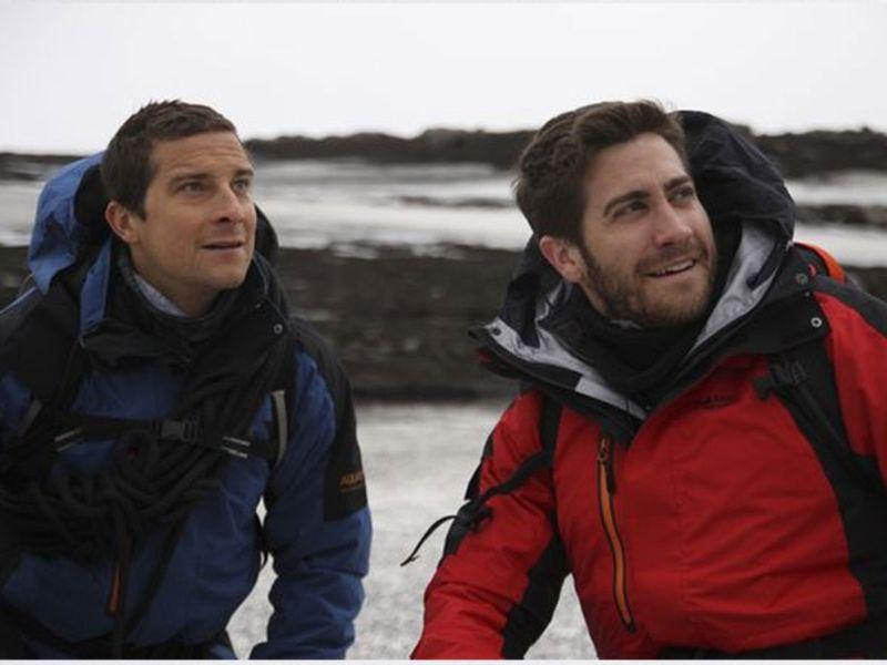 Bear Grylls and Jake Gyllenhaal.