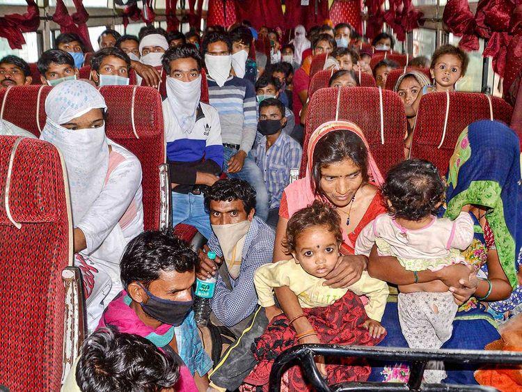 India, COVID-19, migrants