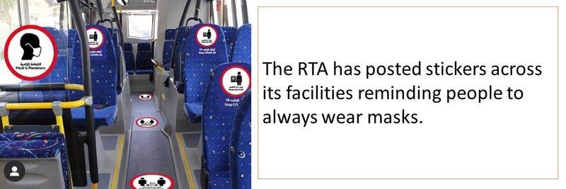Public transport precautions 8