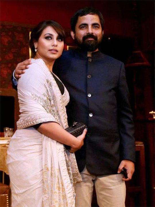 Rani Mukherjee and Sabyasachi Mukherjee